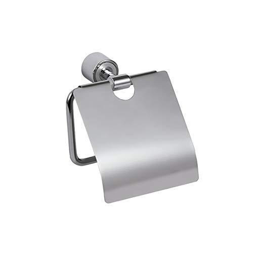 Aqualy® Toilettenpapierhalter mit Deckel chrom