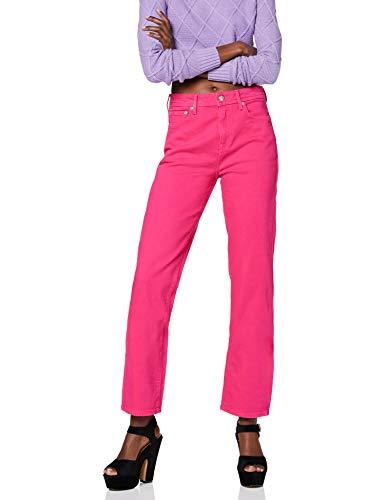 Pepe Jeans Damen Hose Pepe Jeans, Pink (357fuchsia 357), 32W / 32L