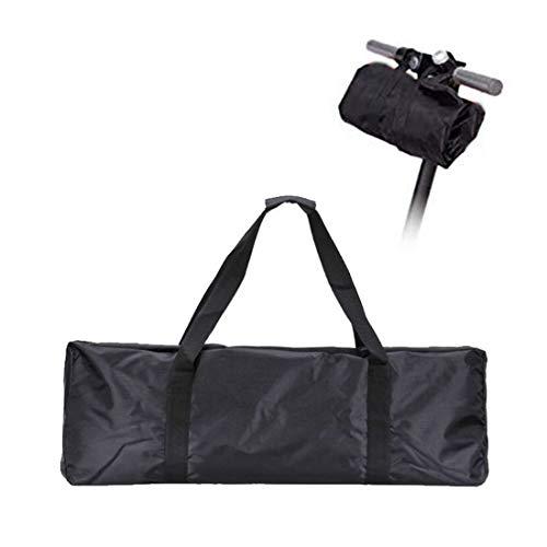 MAFAGE Roller-Tragetasche, Handtasche, tragbar, Reisetasche, Tasche, Rucksack, Handtasche, Transporttasche für Xiaomi Mijia M365 Elektro-Scooter Bikes, schwarz