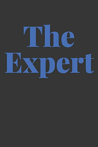 The Expert Notebook: Lined Journal, 120 Pages, 6 x 9, Affordable Gift Journal Matte Finish