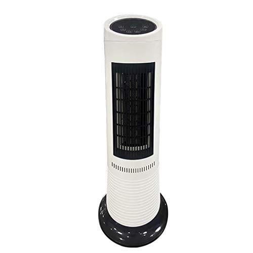Ventilador sin aspas Ventilador de torre de 3 velocidades Ventilador de circulación de aire giratorio de 80 °, con función de control remoto, ventilador de escritorio de refrigeración y calefacción