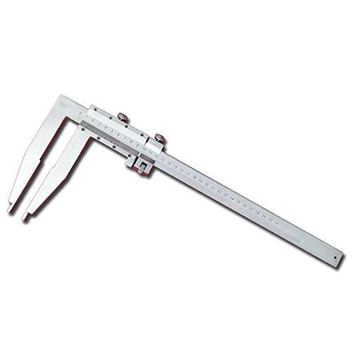 AWYJ Calibre Extended Garra Pie de Rey con Tabla Caliper Herramienta de medición (Color : Silver, Size : 0-300MM)