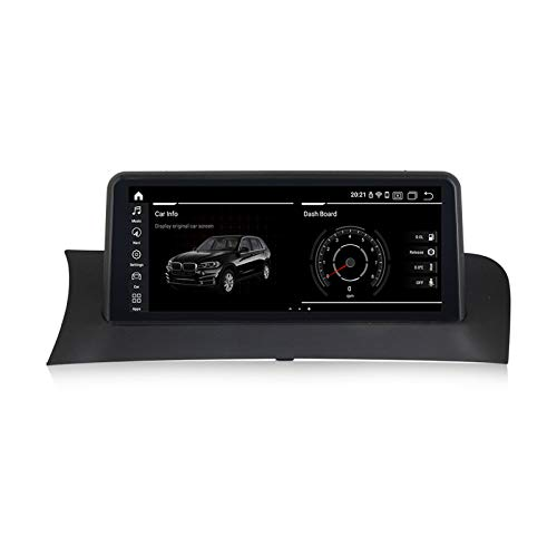 Autoradio Mit Bluetooth GPS Android 8.8'' Touchscreen Android Auto Eingebautes Carplay Behalten Sie Alle Funktionen Für BMW X3 F25 X4 F26 2004-2012,N200,NBT