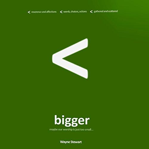 Bigger audiobook cover art