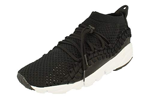 Nike Herren Air Footscape Nm Woven FK Laufschuhe, Schwarz (Black/Black/White 001), 45 EU