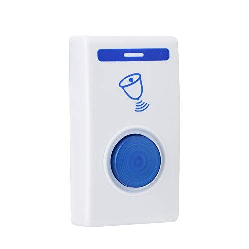 Draadloze digitale deurbel met afstandsbediening met 32 soorten belbellen, Wireless Door Open Chime voor thuis, op kantoor, in de fabriek.