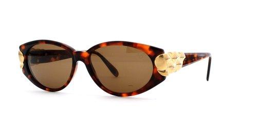 Chopard Damen Sonnenbrille Braun Brown Gold