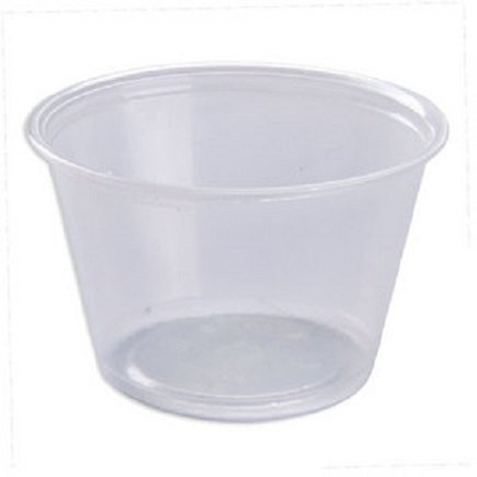4 Oz Plastic Souffle Portion Cups (Pack of 250)
