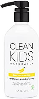 Clean Kids Naturally Banana Smoothie Conditioner, 16 oz