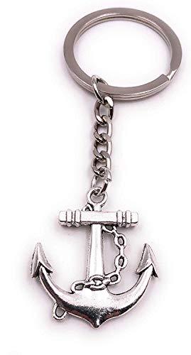 Anker Schlüsselanhänger 3cm Metall | Meer | Schiff | Geschenk | Männer | Dekoration | Damen | Herren | Käpitän | Seefahrt | Maritim
