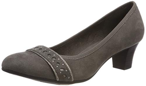 Jana Softline Damen 8-8-22474-22 Pumps, Grau (Graphite 206), 38 EU