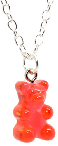 Bluebubble My Sweet Shop Jelly Red Gummy Bear Necklace Box