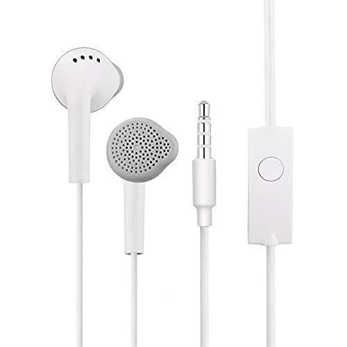 Fone de Ouvido para Celular Atende Ligação Samsung Motorola LG Nokia Inova Branco