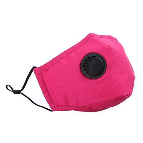YYMQ médico Antipolvo con filtros de carbón Activado, Lavable y Reutilizable, de respiración para alergia al Polen, carpintería, siega, Correr, Ciclismo, Actividades al Aire Libre