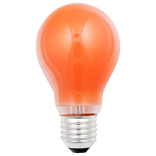 S + H allgebrauchs B de la bombilla 60x 105mm Socket E27230V 15W naranja