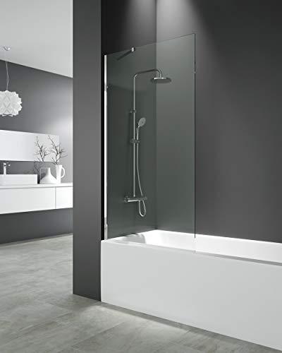 Panel fijo para bañera 150x85 cm - Modelo Screen de GME - Cristales de 8 mm con Tratamiento antical de serie (TRANSPARENTE)