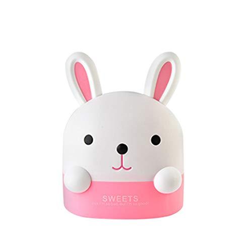 UKtrade Creatieve Roze Konijn Weefsel Doos Toilet Papier Pompdoos Thuis Toilet Doos Home Decoratie Woonkamer Toilet Dressing Tafel