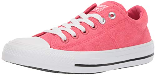 Converse Women's Chuck Taylor All Star Madison Low Top Sneaker, Strawberry jam/White/White, 8 M US