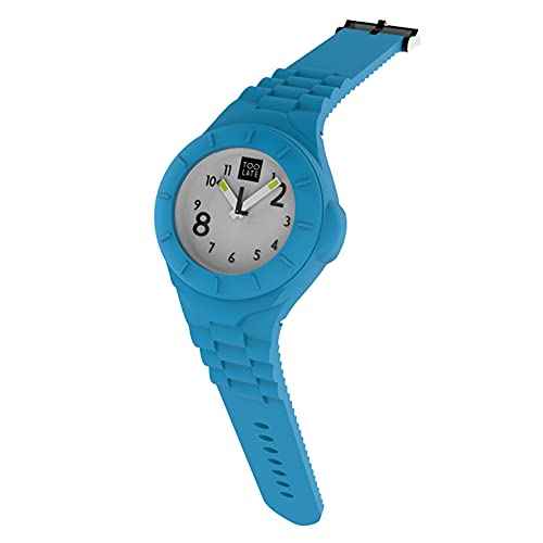 TOO LATE Reloj Mash-Up Lord Slim movimiento de cuarzo sumergible 5 ATM caja 25 mm, Azzurro Acid,