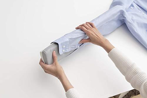 山崎実業(Yamazaki)長袖用アイロンマットアルミ約W12.5XD4.5XH54.5cm仕上馬アルミコーティング加工クローゼットに収納可4032グレー