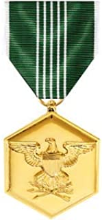 Medals of America Army Commendation Medal Anodized Full Size Bronze