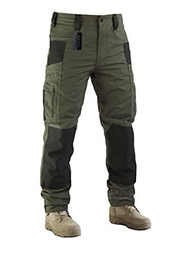Survival Tactical Gear Men's Ripstop Pants Outdoor...