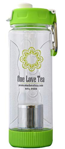One Love Cold Brew Tea Infuser Bottle