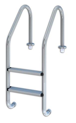 Productos QP 509080 - Escalera estándar, 2 peldaños