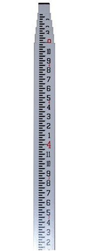 CST/berger 06-916C MeasureMark 16-Foot 5 Section Fiberglass Grade Rod in Feet, Inches, and Eighths