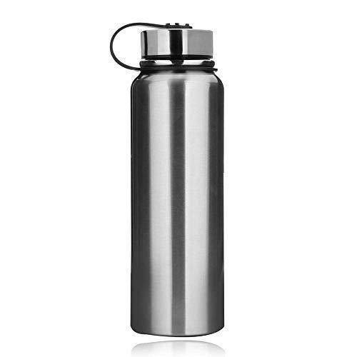 Botella de Agua Deportiva - Botella de Agua aislada al vacío de Acero Inoxidable - 610 ml 800 ml 1100 ml 1500 ml - No tóxico sin BPA a Prueba de Fugas para niños Gimnasio Yoga Correr xinqing