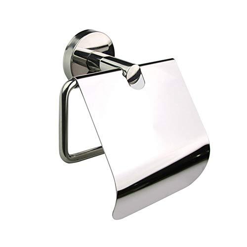 Jjoer Wc Papier Halterung Rostfreier Stahl Toilettenpapier Halterung Mit Deckel Toilettenpapierhalter FüR ÖFfentliche Toiletten BäDer Hotels Unterhaltung