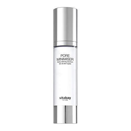 Vitabay Pore Minimiser 50 ml • Hautpflegelotion zur Porenverfeinerung • Gegen fettige Haut