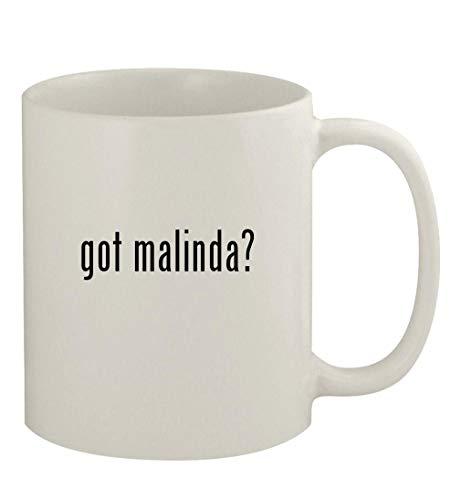 got malinda? - 11oz Ceramic White Coffee Mug, White