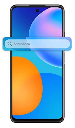 HUAWEI P smart 2021 Dual SIM Smartphone (16,94 cm - 6,67 Zoll, 128 GB interner Speicher, 4 GB RAM, Android 10 AOSP ohne Google Play Store, EMUI 10.1) midnight black + 5 EUR Amazon Gutschein - 2