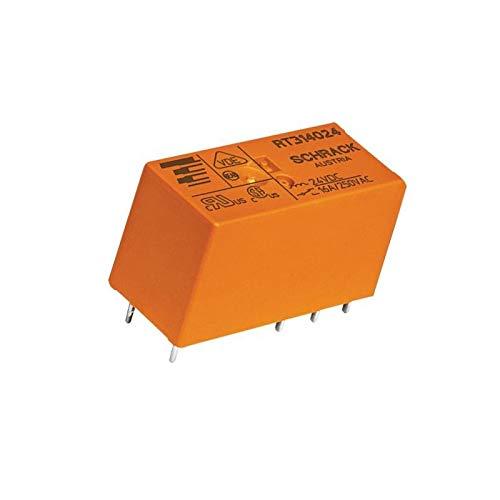 WITTKOWARE PCB Leistungsrelais, 12V-, 1 Wechsler, 16A/250V~