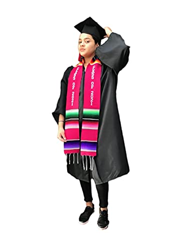 Graduación Clase de 2021 Faja ROSA accesorio de ropa Sash Sash Mexicano 1 pieza