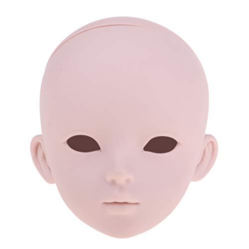 T TOOYFUL 1/3 BJD Hauptgesichts Form Ersatz Körperteile, Bilden Augen Wimper Verlängerungen, Für Das Haar, Das Cosmetology Anredet