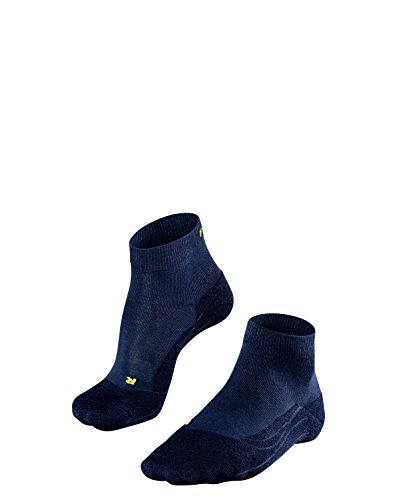 FALKE Damen, Golfsocken GO2 Short mit Baumwolle, 1 er Pack, Blau (Space Blue 6116), 37-38