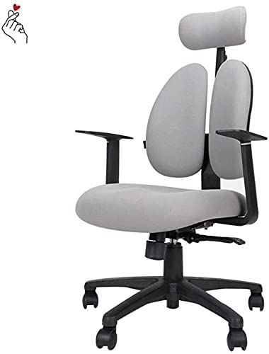 Agcwhls Gaming ChairExecutive Office Chair Computer Chair, Ergonomic Chair, Engineering Gaming Chair, Gaming Swivel Chair, Home Comfortable Office Chair Backrest Chair (Color : Black)