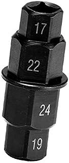 FireAngels Spindelschlüssel für Motorrad, 17 mm, 19 mm, 22 mm, 24 mm