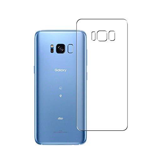 Vaxson 2 Unidades Protector de pantalla Posterior, compatible con Samsung Galaxy S8 SCV36 SC-02J [No Vidrio Templado] TPU Película Protectora Espalda Skin Cover
