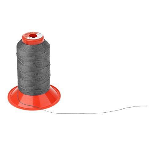 Sharplace Nylon Nähgarn, 500m, stark und ideal für Leder Schuhe Zelte Rucksäcke Schlafsäcke Reparatur Nähgarn - Dunkelgrau