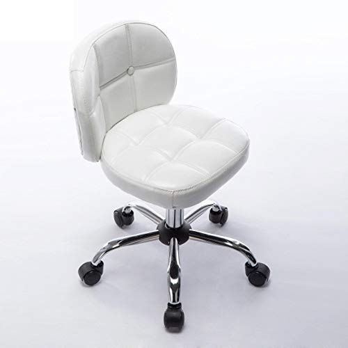 Office Stool Small Home Computer Stool, Swivel Chair with Backrest, Bar Chair, Coffee Shop Stool, Office Chair, Swivel Stool