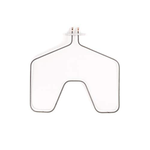 GE WB44X5099 Oven Bake Element for Conventional Hotpoint, 18' W and 19-1/4' from The Terminals to The end Nearest Door, Black