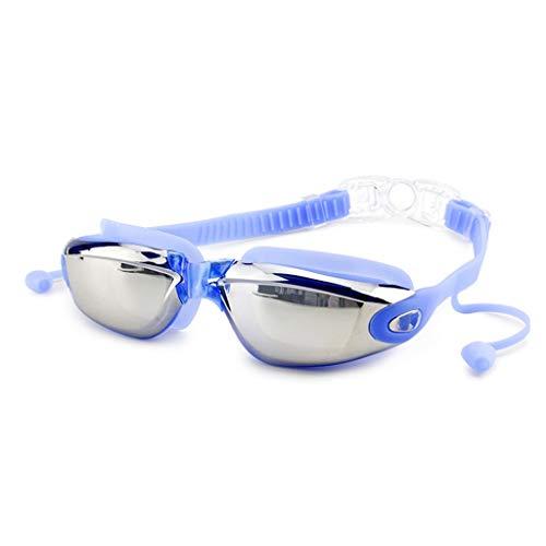 Yzlife Zwembril, anti-condens, uv-bescherming, gecoate lens, galvaniseren, heren, zwembril voor vrouwen