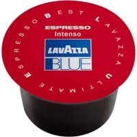 Lavazza BLUE Capsules, Espresso Intenso Coffee Blend, Medium Roast, 28.2-Ounce Boxes (Pack of 100)