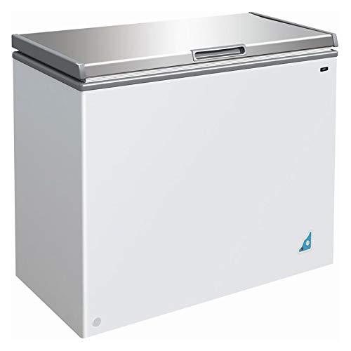 Congelateur coffre 201 L avec couvercle inox - Combisteel - R600A