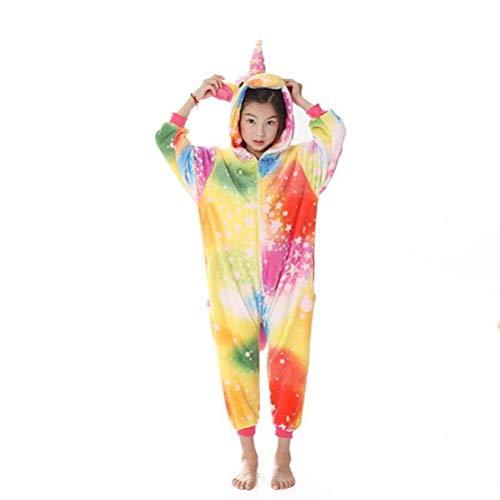 Unisex pyjama volwassen dier Onesies Cartoon kinderen eendelige pyjama flanel badjas gewaad ouder-kind, JUSTTIME 110# Zoals getoond