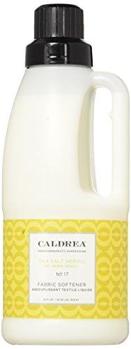 Caldrea Fabric Softener, Sea Salt Neroli, 32 Fluid Ounce