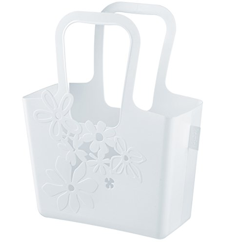 koziol Tasche Alice, Kunststoff, solid weiß, 13 x 32,7 x 38,6 cm